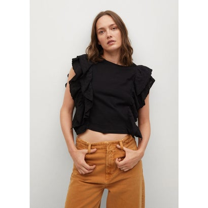 Tシャツ .-- ANIS (ブラック)