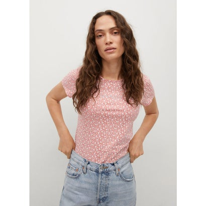 Tシャツ .-- MANGOFI-H (ピンク)