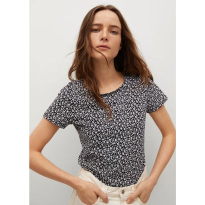 Tシャツ .-- MANGOFI-H (ブラック)
