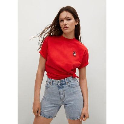 Tシャツ .-- MICKEY-H (ブライトレッド)
