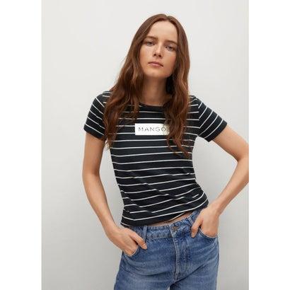 Tシャツ .-- MANGORA-H (ネイビーブルー)