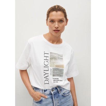 Tシャツ .-- PSGSEA (ホワイト)