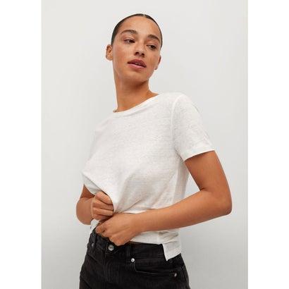 Tシャツ .-- LISINO (ナチュラルホワイト)