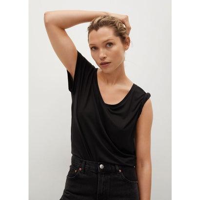 Tシャツ .-- VISPI (ブラック)