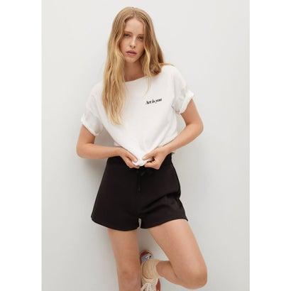 Tシャツ .-- PSGARTY (ナチュラルホワイト)