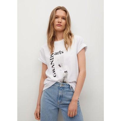 Tシャツ .-- PSTFAS (ホワイト)