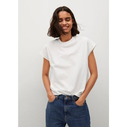 Tシャツ .-- ROCIO-H (ナチュラルホワイト)