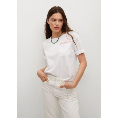 Tシャツ .-- OUI-H (ホワイト)