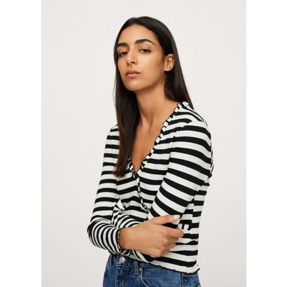 Tシャツ .-- MARINA (ブラック)