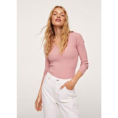 セーター .-- GOLETA (ピンク)