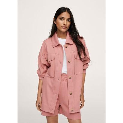 スウェットシャツ .-- PIQUE1 (ピンク)