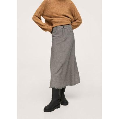 ロングスカート .-- DIANA (ブラック)