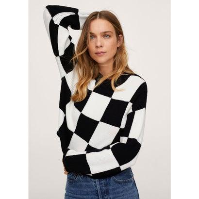 セーター .-- CHESS (ブラック)