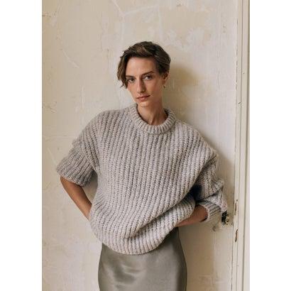 セーター .-- VINSON (グレー)