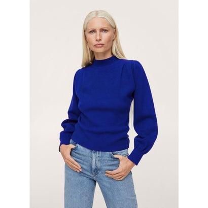 セーター .-- SHOULDER (ブライトブルー)