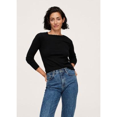 セーター .-- MISPIA (ブラック)