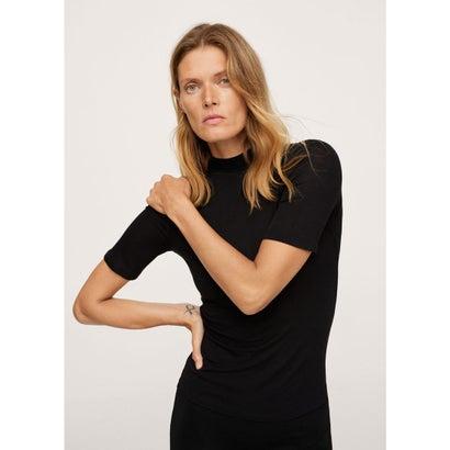 Tシャツ .-- SECONDM (ブラック)