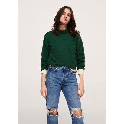 セーター .-- MARINA (ブライトグリーン)
