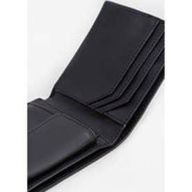 二つ折り財布 P SAFRAN8 (ブラック)