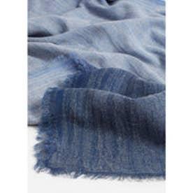 スカーフ . TIE (ブルー)