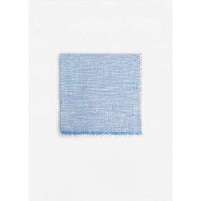 スカーフ . LISO8 (ブルー)