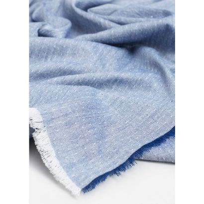 スカーフ . DENIM8 (ブルー)