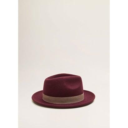 帽子 .-- HENRY (ダークレッド)
