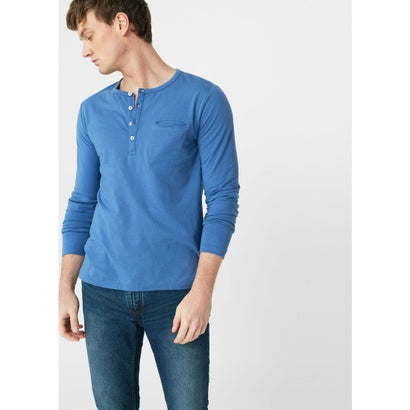 T-シャツ . OLIVER (ブルー)