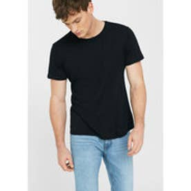 T-シャツ . CHERLO (ブラック)