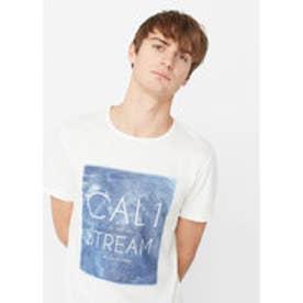 T-シャツ . CALIF (ナチュラルホワイト)
