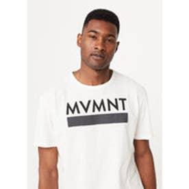 T-シャツ . MVMNT (ナチュラルホワイト)