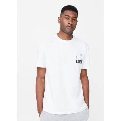 T-シャツ . LOST (ホワイト)