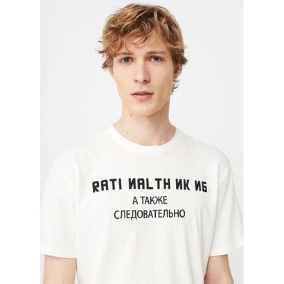T-シャツ . SOVIET (ホワイト)