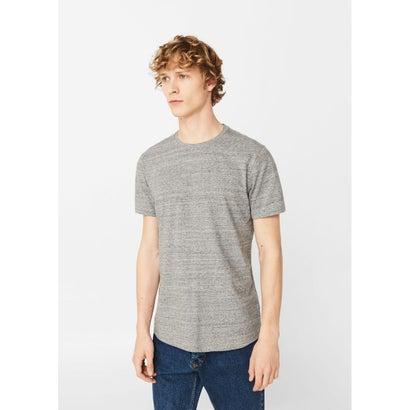 ベーシックTシャツ .-- GURU (パステルグレー)
