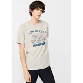 Tシャツ .-- SANTA (ナチュラルホワイト)