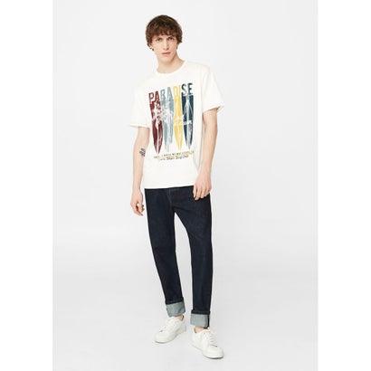 Tシャツ .-- PARADIS (ナチュラルホワイト)