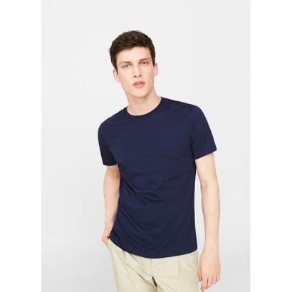 Tシャツ .-- CHERLO (ネイビー)