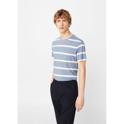 Tシャツ .-- TOMY (ブルー)