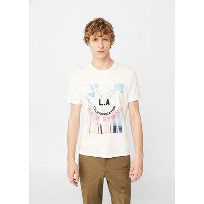 Tシャツ .-- PALM-H (ホワイト)