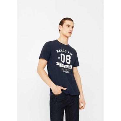 Tシャツ .-- LOGOHE-H (ネイビー)