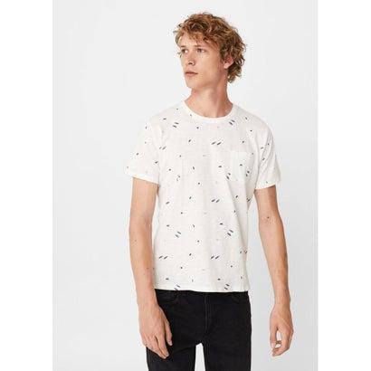 Tシャツ .-- MINIMAL-H (ホワイト)