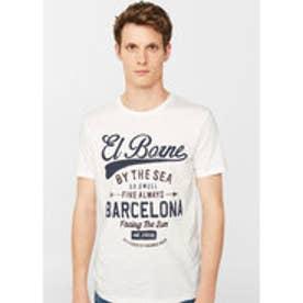 Tシャツ .-- BCN-H (ホワイト)