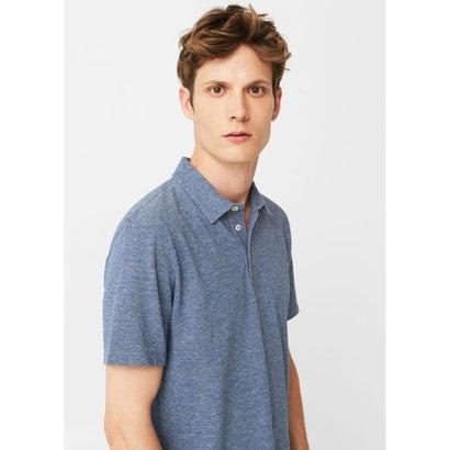 ポロシャツ .-- KLAUS (ミディアムブルー)
