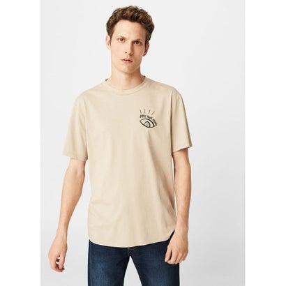 Tシャツ .-- FREEMIND (ライトベージュ)