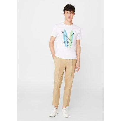 Tシャツ .-- SURF-H (ホワイト)
