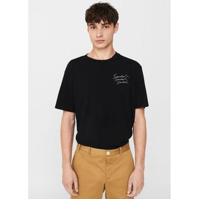Tシャツ .-- NEUTRAL (ブラック)