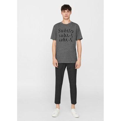 Tシャツ .-- SUBTLE (グレー)