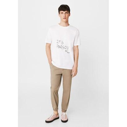 Tシャツ .-- PERSONAL (ホワイト)