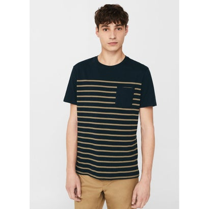 Tシャツ .-- NIZA (ネイビーブルー)
