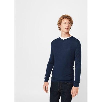 セーター .-- SOHO (ネイビーブルー)